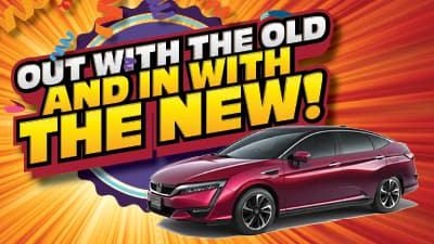 2018 Honda Clarity Touring Sedan