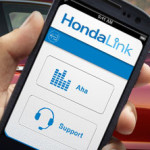 HondaLink on a phone