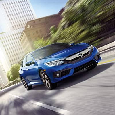 2017 Honda Civic Sedan Touring AegeanBlueMetallic