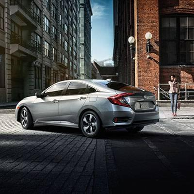2017 Honda Civic Sedan Touring LunarSilverMetallic