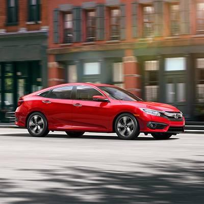 2017 Honda Civic Sedan Touring RalleyeRed