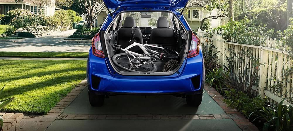 2017 Honda Fit EX-L Aegean Blue Exterior 4