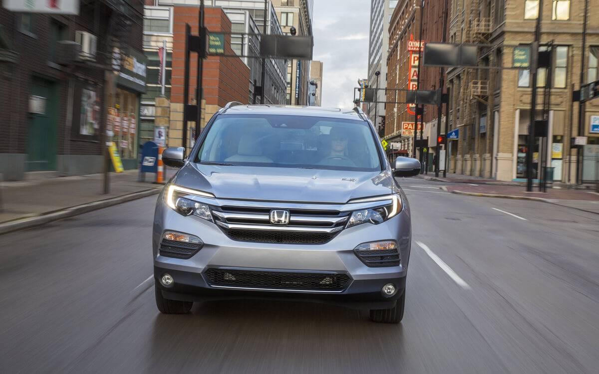 Honda Pilot Front Exterior