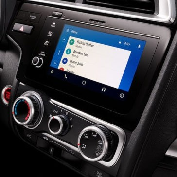2018 Honda Fit Android Auto