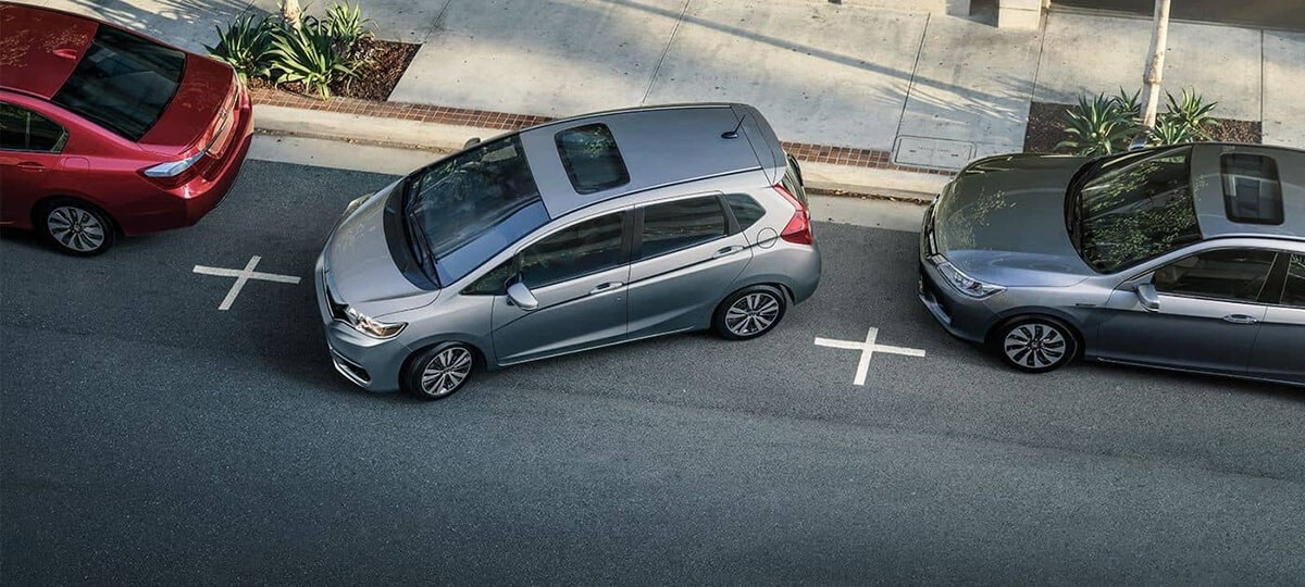 2018 Honda Fit Parallel Parking