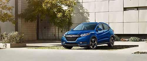 Blue 2018 Honda HR-V