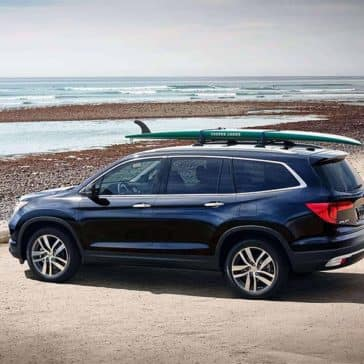 2018 Honda Pilot Gallery on beach