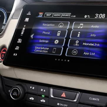 2018 clarity 8 in display audio