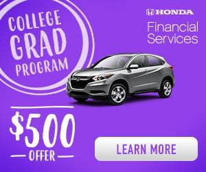 Visit Metro Honda Today For Further Details About The College Graduate Program