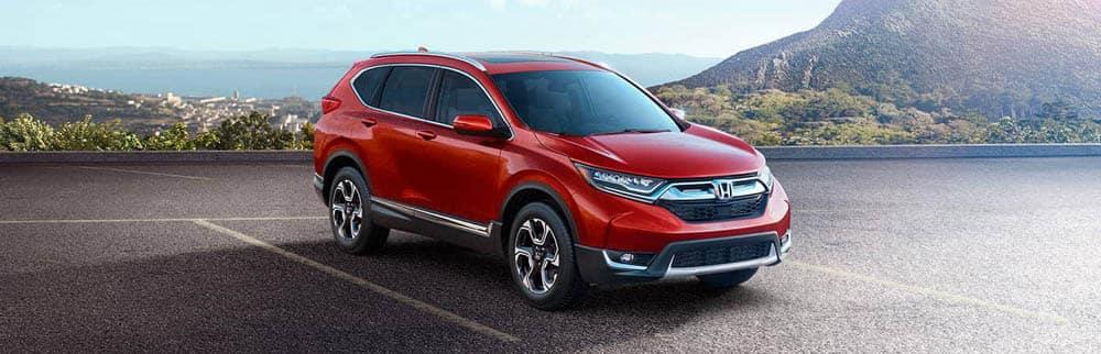 Red 2018 Honda CR-V