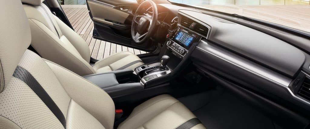 2018 Civic Sedan front interior passenger