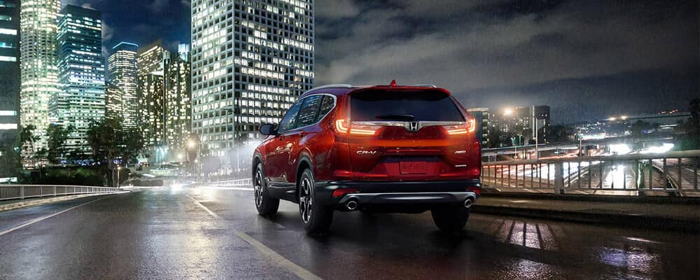2018 Honda CR-V at night banner