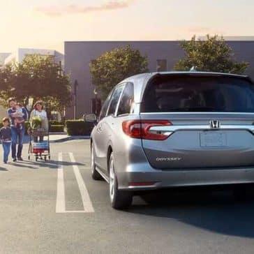 2018 Honda Odyssey Exterior 3