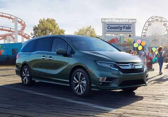 2018 Honda Odyssey Exterior 4
