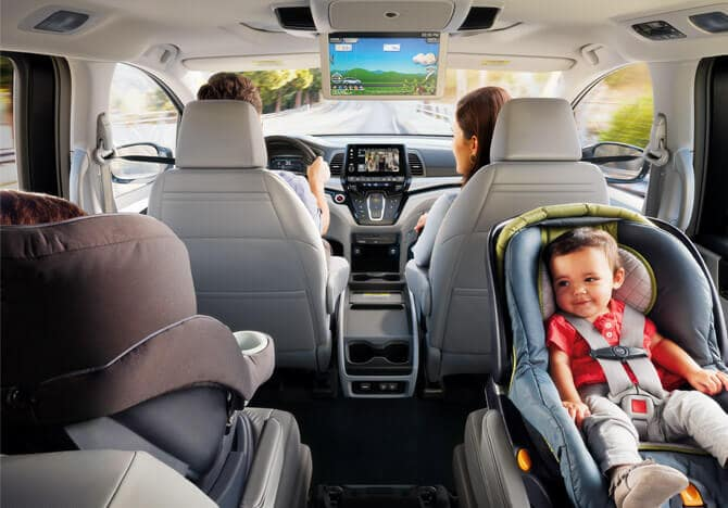 2018 Honda Odyssey Interior 3