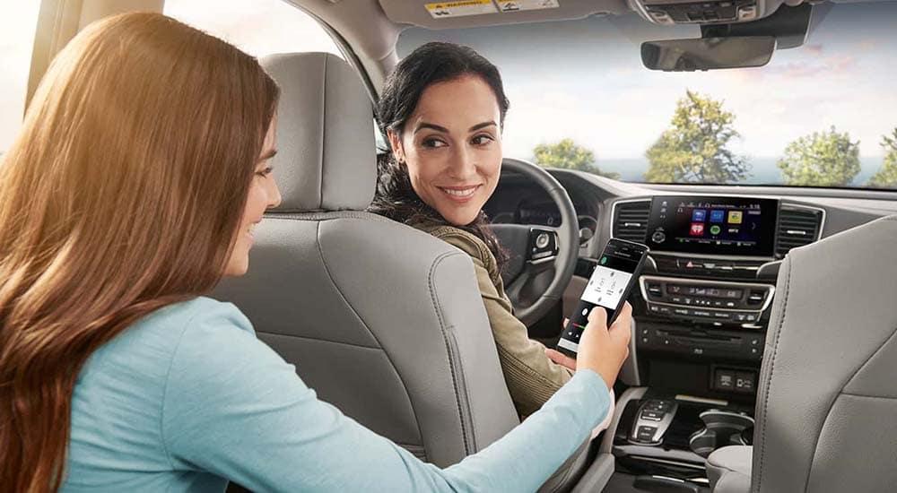 2019 Honda Pilot interior cabin