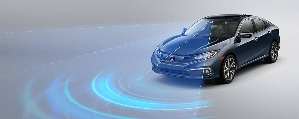 2019 Honda Civic Sedan Collision Mitigation Braking System