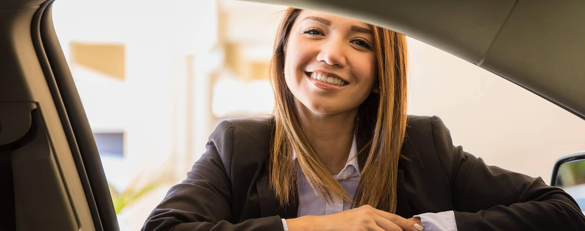 Hispanic Woman Car Sales