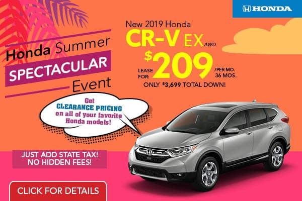 2019 CRV EX AWD