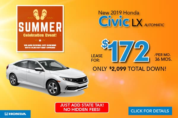Honda Finance Specials >> New Vehicle Specials In Jersey City Nj Metro Honda