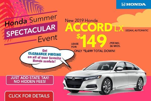 2019 Honda Accord LX Automatic