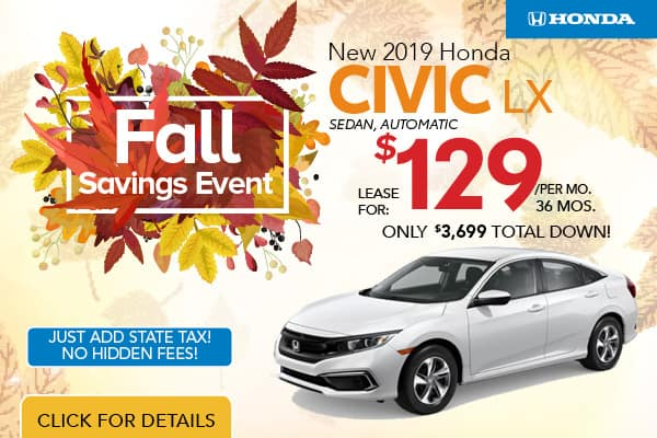 Honda Civic: Your Award-Winning Coupe, Sedan, or Hatchback