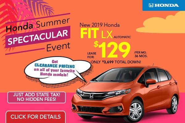 New Vehicle Specials In Jersey City Nj Metro Honda