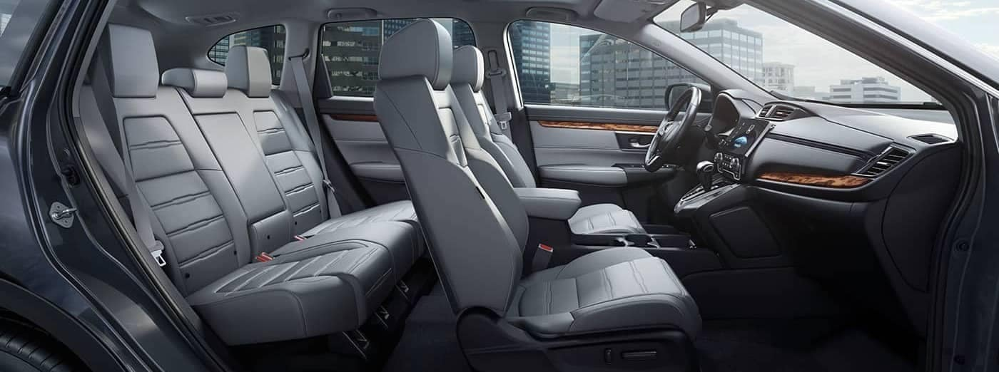 interior cabin of 2019 Honda CR-V