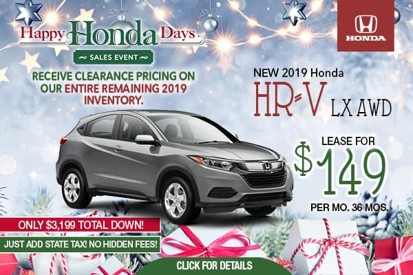 2019 HRV LX AWD