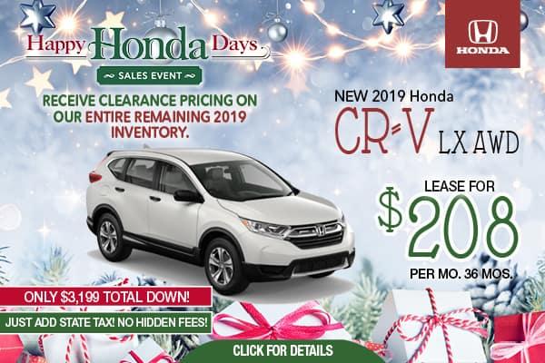 2019 CRV LX AWD