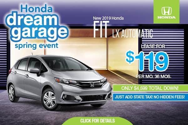 2019 Honda Fit LX Automatic