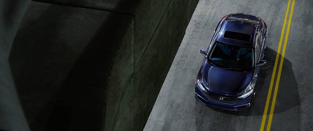 2020 Honda Civic Top View