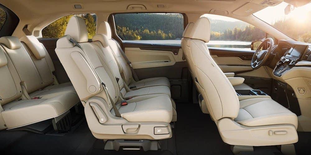 2020 Honda Odyssey Interior Cross-Section