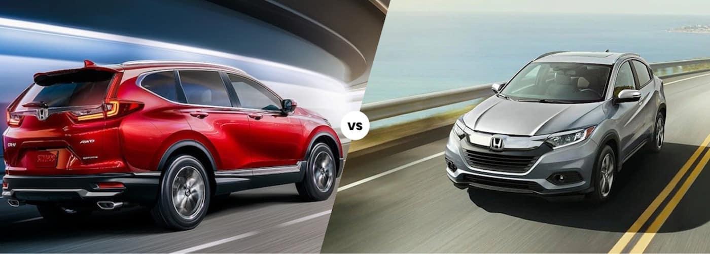 2020 Honda CR-V vs. 2020 Honda HR-V