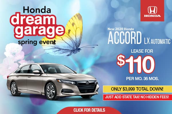 2020 Honda Accord LX Automatic
