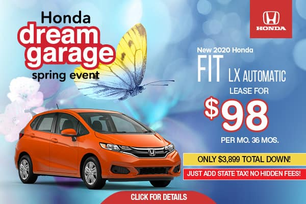 2020 Honda FIT LX Automatic
