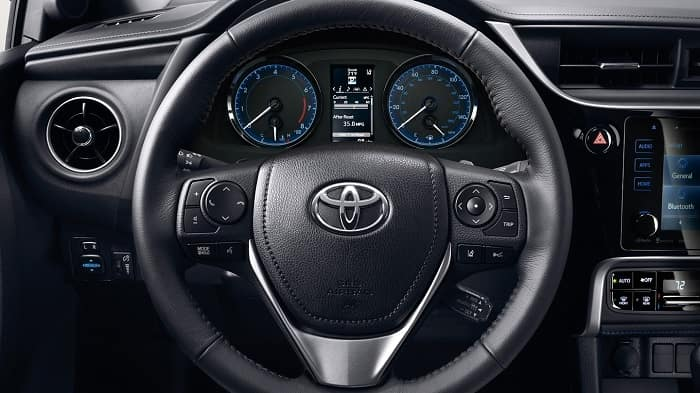 2018 Toyota Corolla in Chicago, IL steering wheel