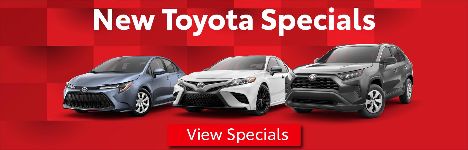 Midtown Toyota Vehicle Specials