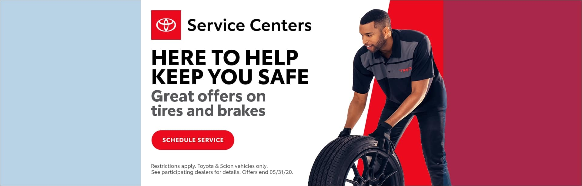Midtown Toyota Tires and brakes offers