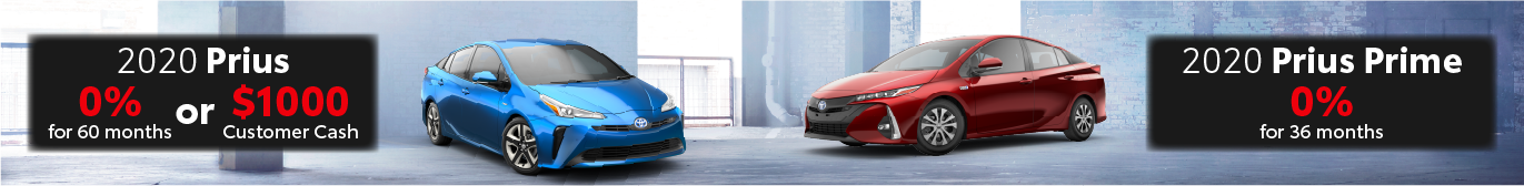 Midtown Toyota 0% on Prius and Prius Prime