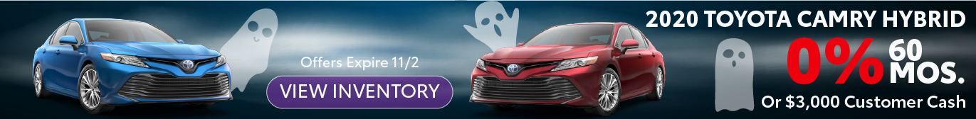 Midtown Toyota 2020 Camry 0% APR Offer