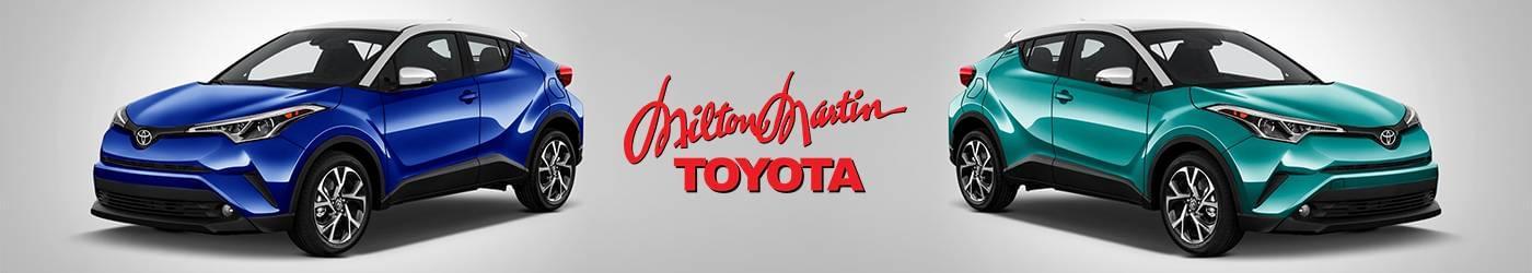 2018 C-HR Milton Martin Toyota