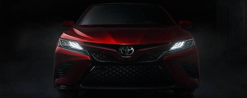 2018 Camry Exterior Features