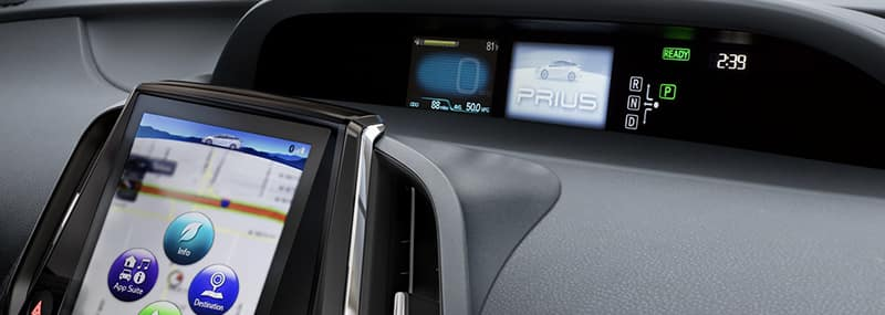 2018 Prius Interior Features