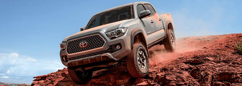 2018 Tacoma Exterior Features