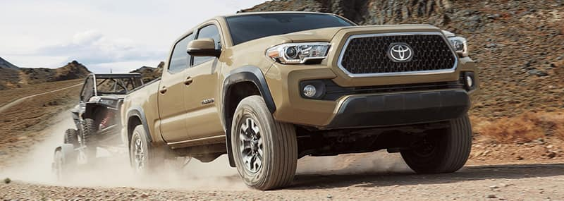 Exterior Features 2018 Tacoma