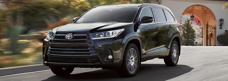 Exterior Features 2018 Highlander