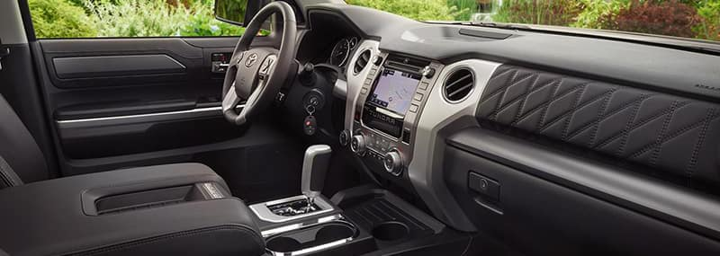 Interior Features 2018 Tundra