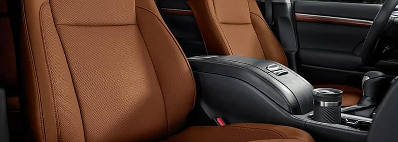 Interior Features 2018 Highlander