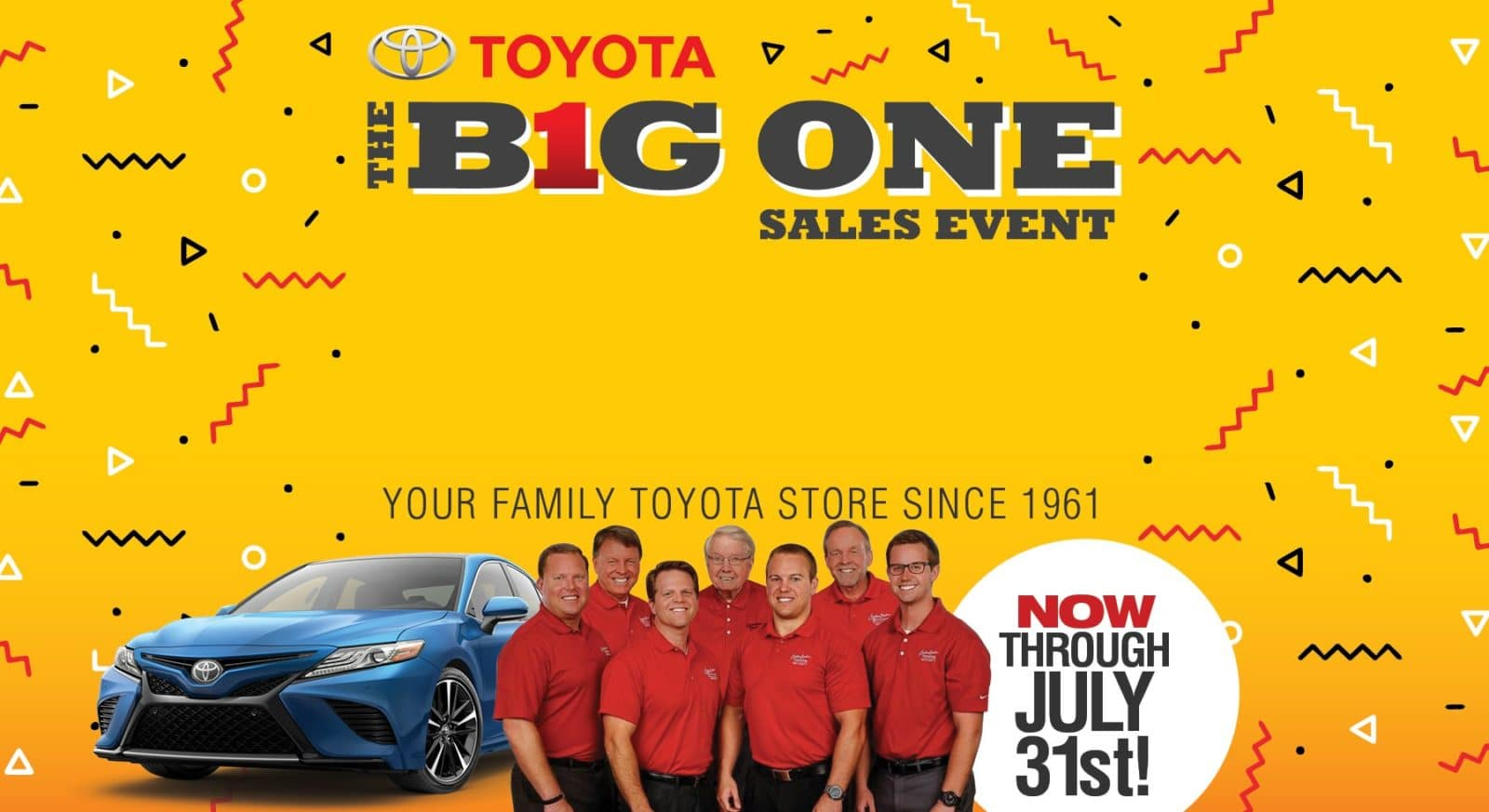 Big One homepage image